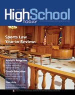 High School Today Cover - January 2011